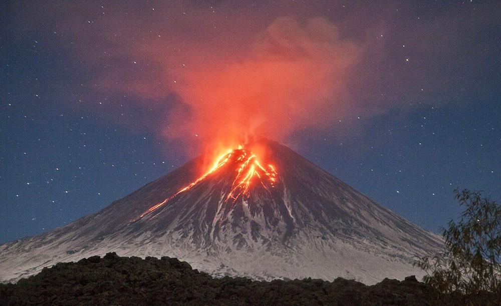 Цікаві факти про вулкани