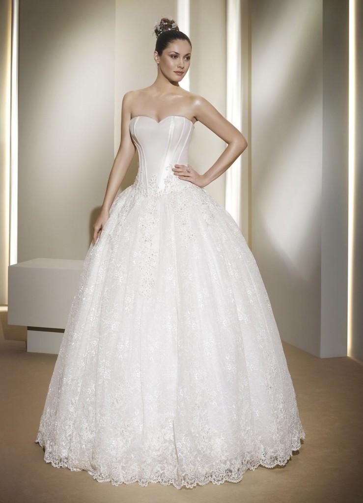 Класичне бальне плаття