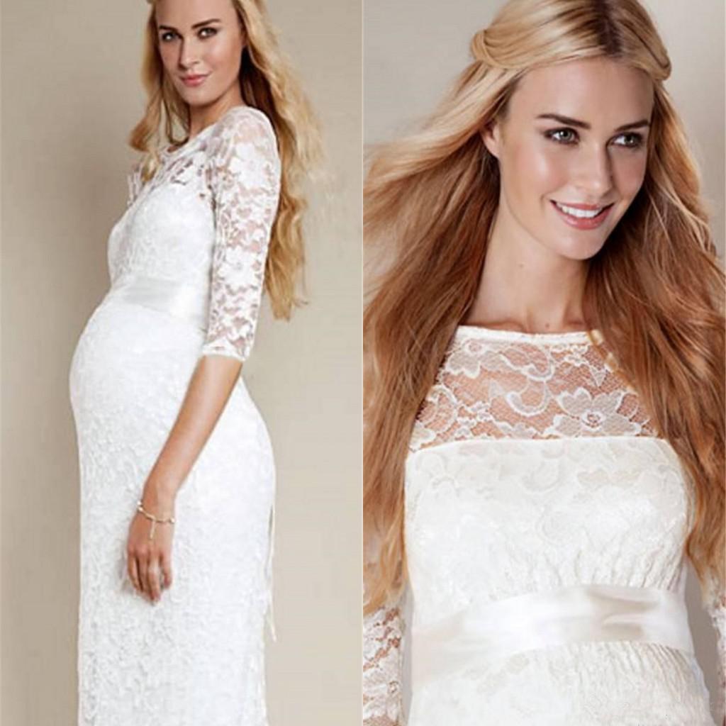 Яку весільну сукню вибрати вагітним жінкам