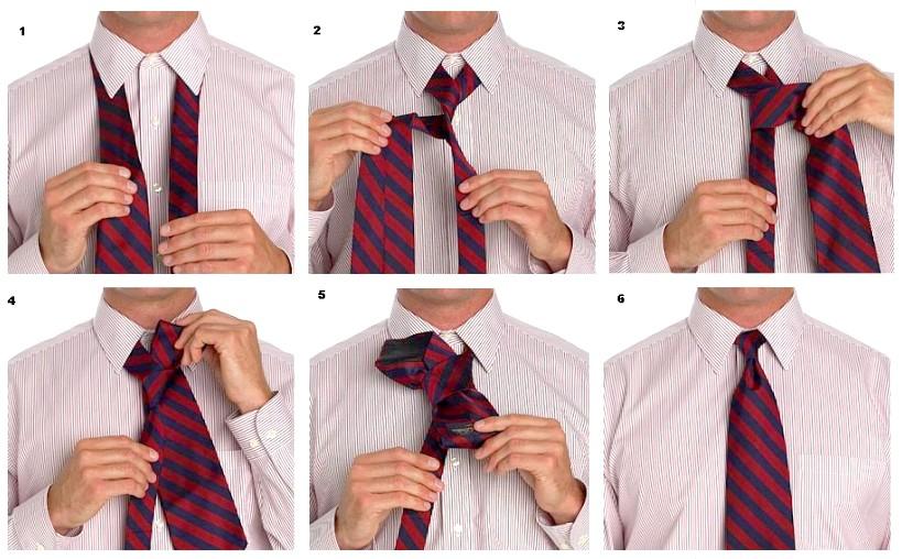 П'ять способів, як зав'язати краватку своїми руками