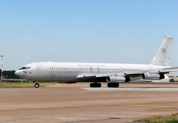 Цікаві факти про літак Boeing 707