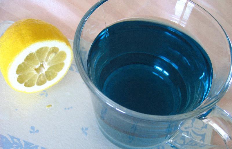 Цікаві факти про синій чай