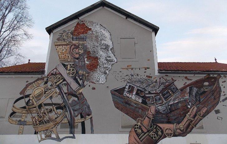 Цікаві факти про стріт-арт