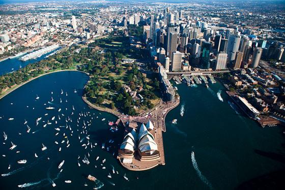 Сідней - друге в списку великих міст світу за площею