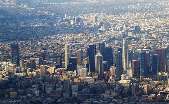 Лос-Анджелес - найбільше місто за площею в США