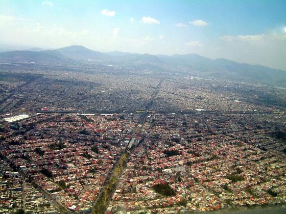 Очолює список великих міст Північної Америки Мехіко