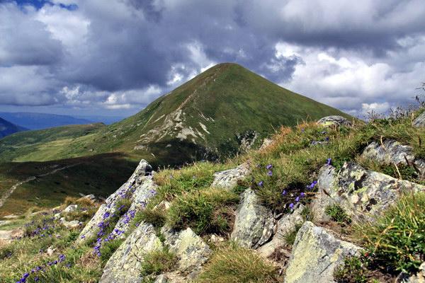Говерла - найвища гора в Україні