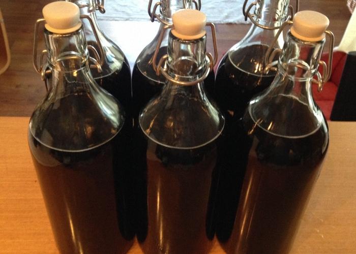 Рецепт і інгредієнти зернового темного домашнього пива