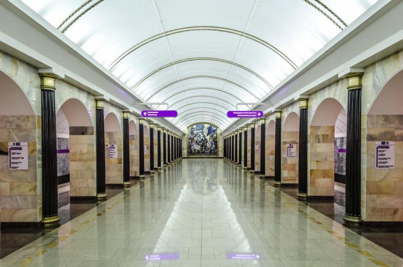 Станція метро Адміралтейська