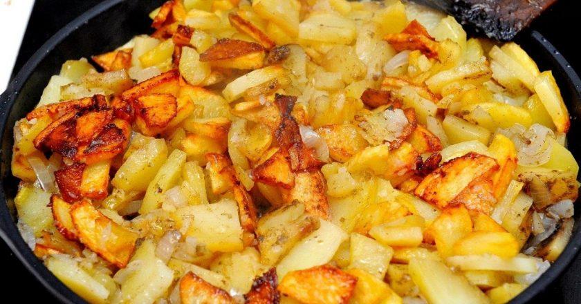 Як смачно посмажити картоплю