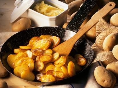 Як готувати смажену картоплю