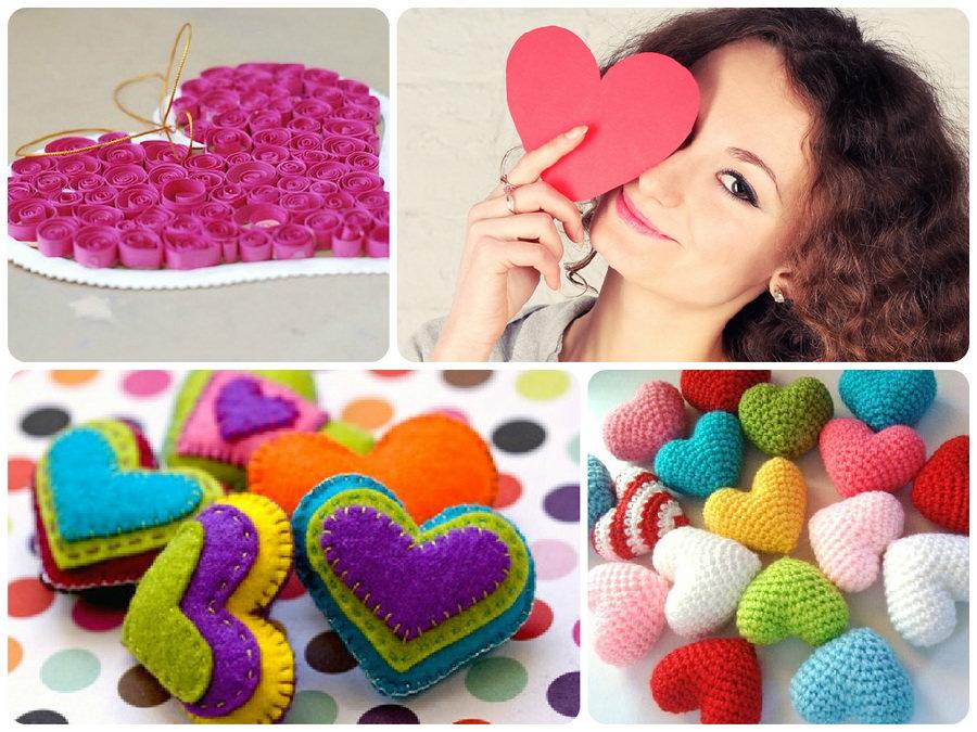 Валентинки на 14 лютого своїми руками