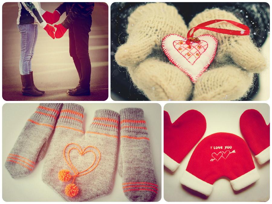 Затишні і теплі рукавиці та рукавички: подарунки для закоханих
