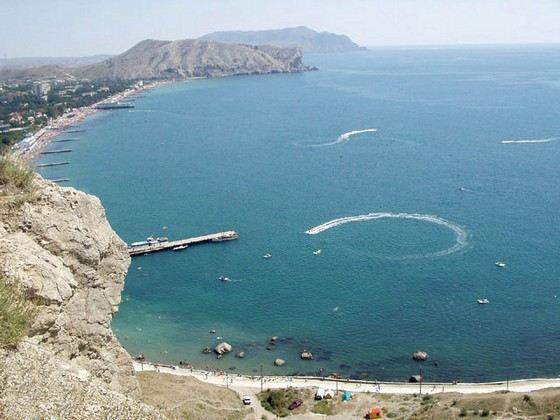 Чорне море не найбільше, зате дуже тепле
