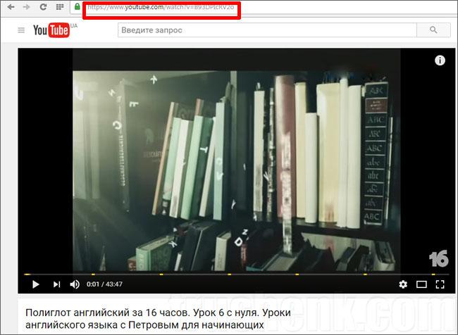 Як завантажити відео з YouTube на комп'ютер або ноутбук