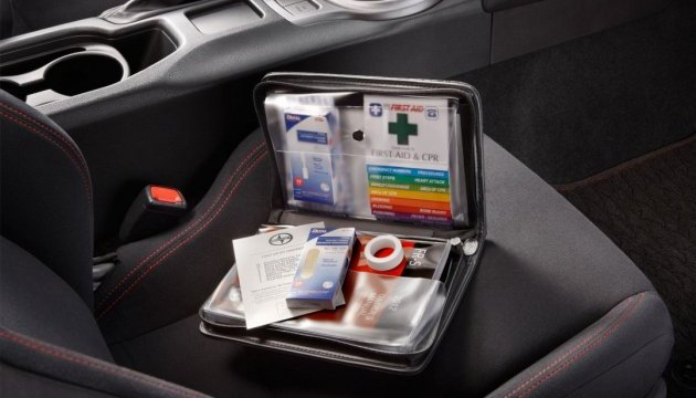 Склад автомобільної аптечки (АМА)