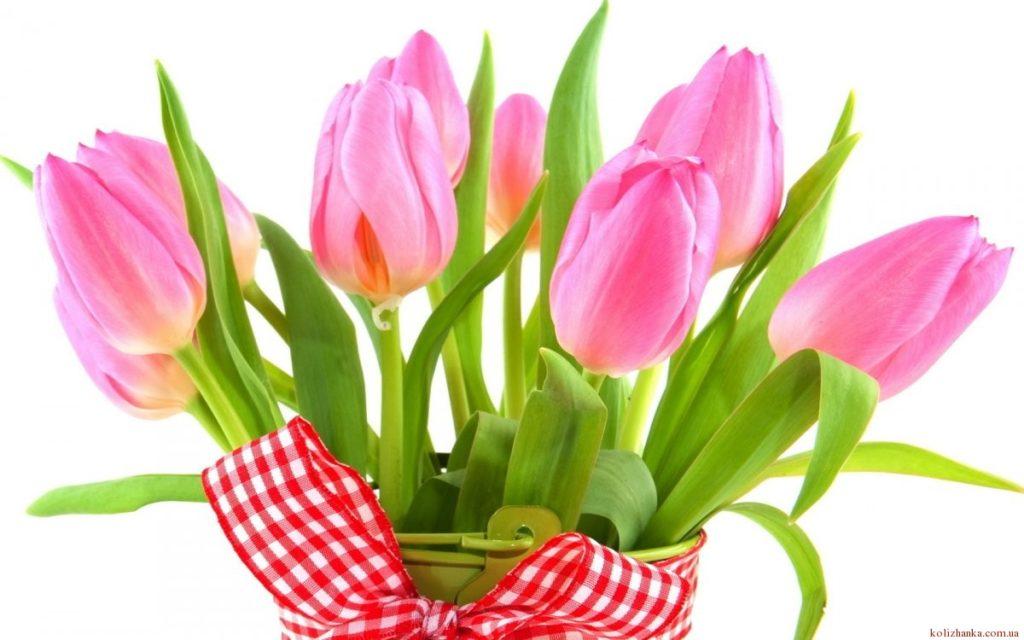 Привітання мамі з 8 березня