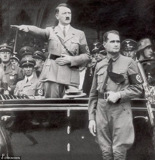 Цікаві факти про Рудольфа Гесс