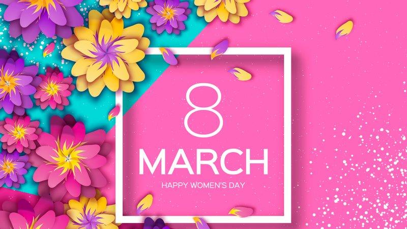Привітання з 8 березня подрузі