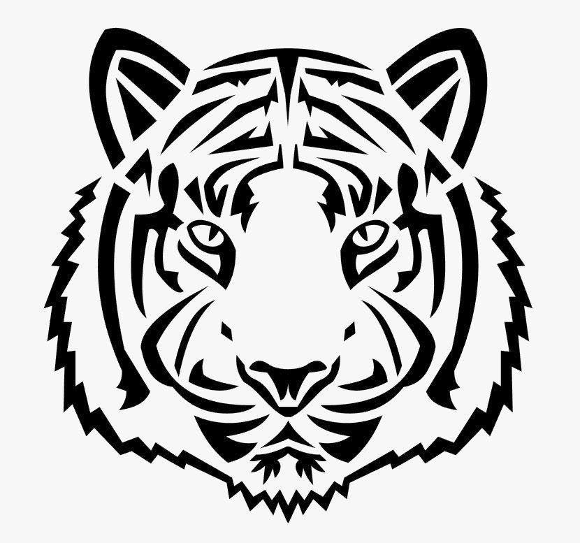 ащі витинанки Символу 2022 Тигра